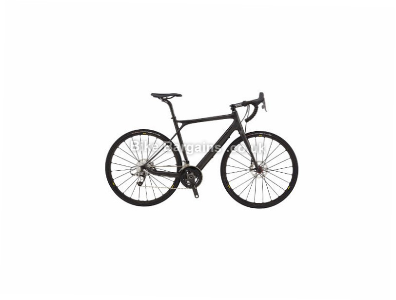 GT Grade SRAM Red Adventure Carbon Road Bike 2017 Black, Grey, 56cm, 58cm, 60cm