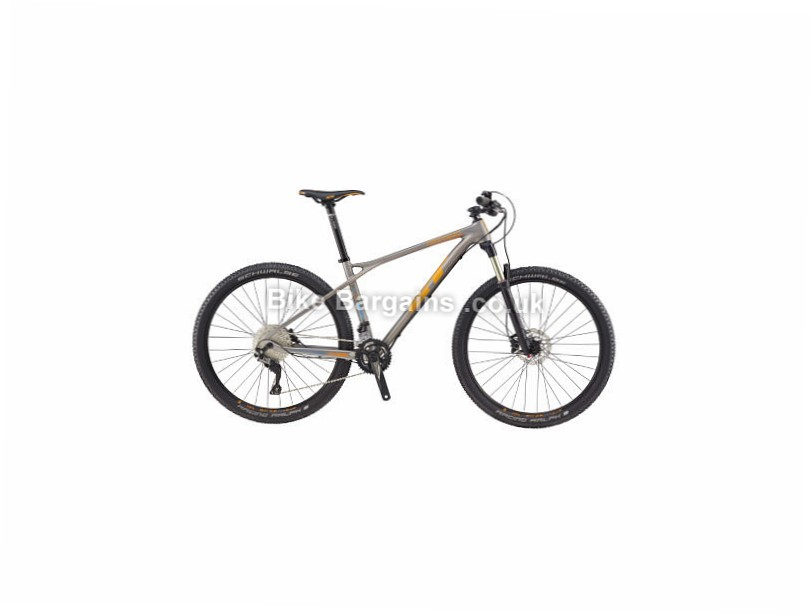 "GT Zaskar Comp 27.5"" Carbon Hardtail Mountain Bike 2017 Grey, M"