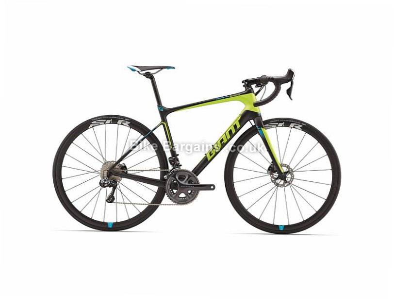 Giant Defy Advanced Pro 0 Carbon Disc Road Bike 2017 Black, S,L