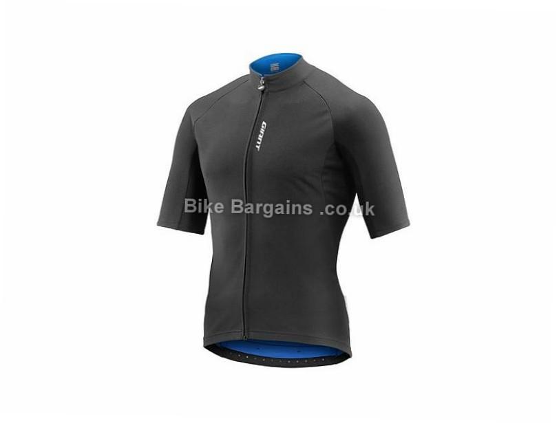 Giant Diversion Short Sleeve Jersey M,L,XL,XXL, Black, Blue