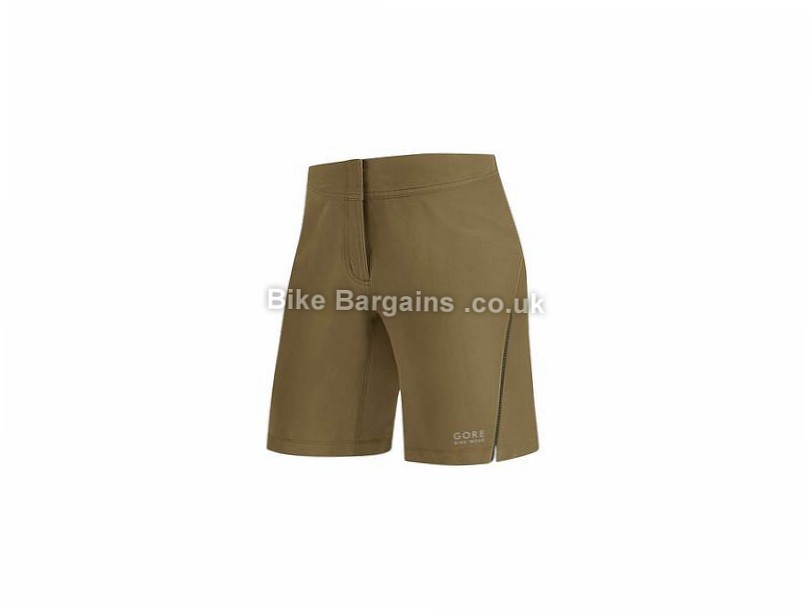 Gore Bike Wear Ladies Element Baggy Shorts Brown, 40, 42