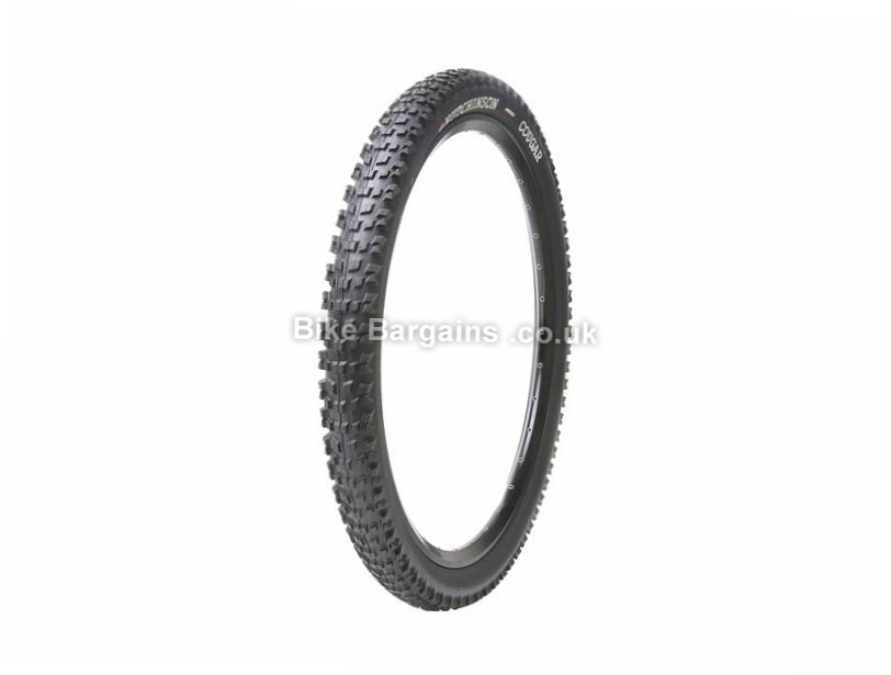 "Hutchinson Cougar XC Folding MTB Tyre Folding, 26"", Tubeless , 2.4"", Black"