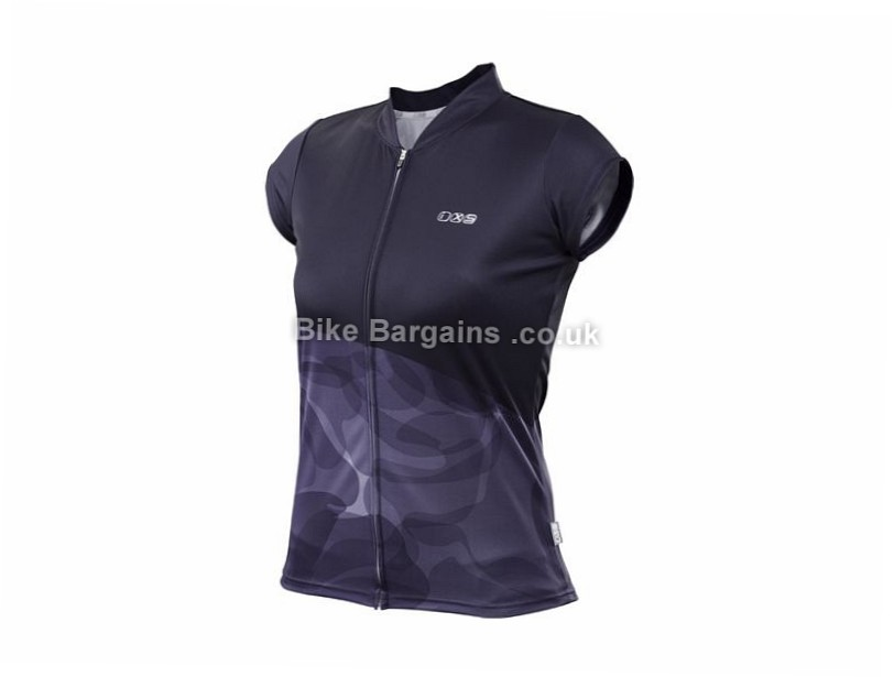 IXS Carta Ladies Trail Short Sleeve Jersey 2017 XL, Purple