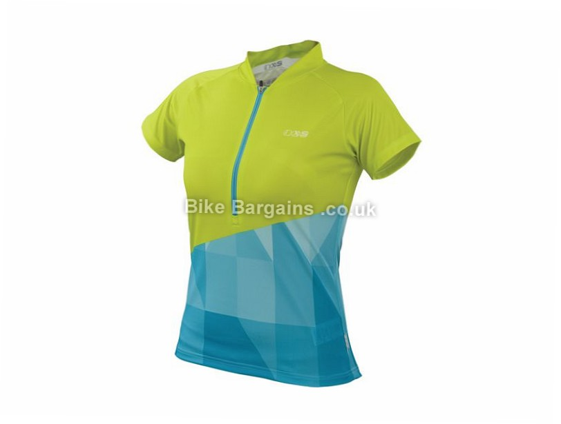 IXS Sablun Ladies Trail Short Sleeve Jersey 2017 XL, Purple, Green, Turquoise