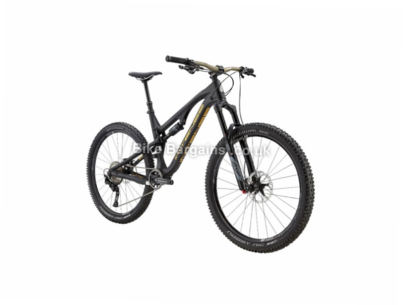 Intense Spider 275C Expert Build Enduro Full Suspension Mountain Bike 2017 M,L, Black, Gold, Silver