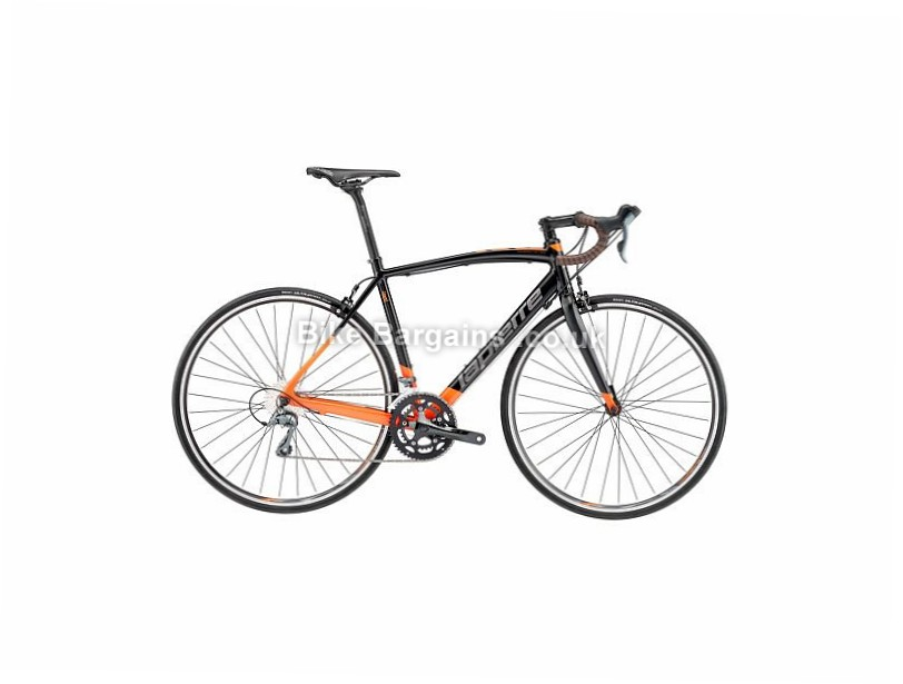 Lapierre Audacio 100 CP Alloy Road Bike 2017 700c, 55cm, Black, Orange, Grey, 24 Speed, Alloy