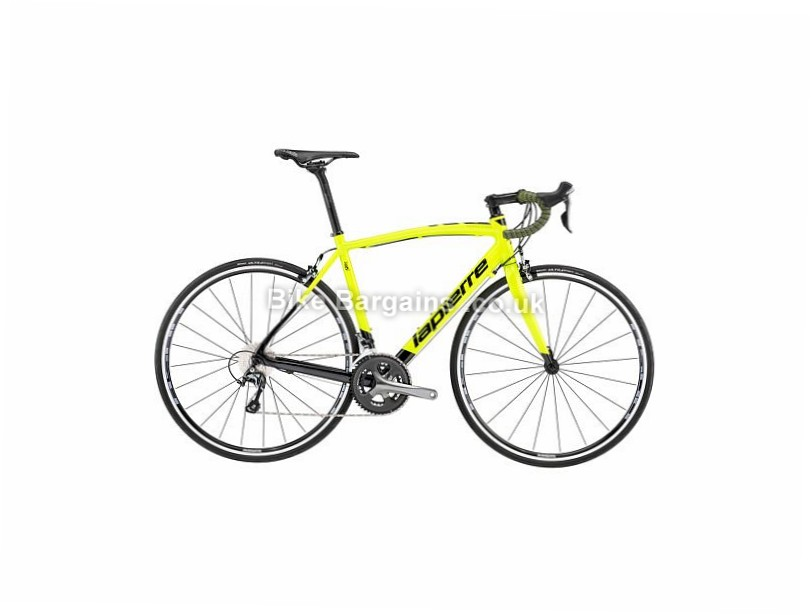 Lapierre Audacio 300 CP Alloy Road Bike 2017 49cm, 700c, Yellow, Black, 20 Speed, Alloy