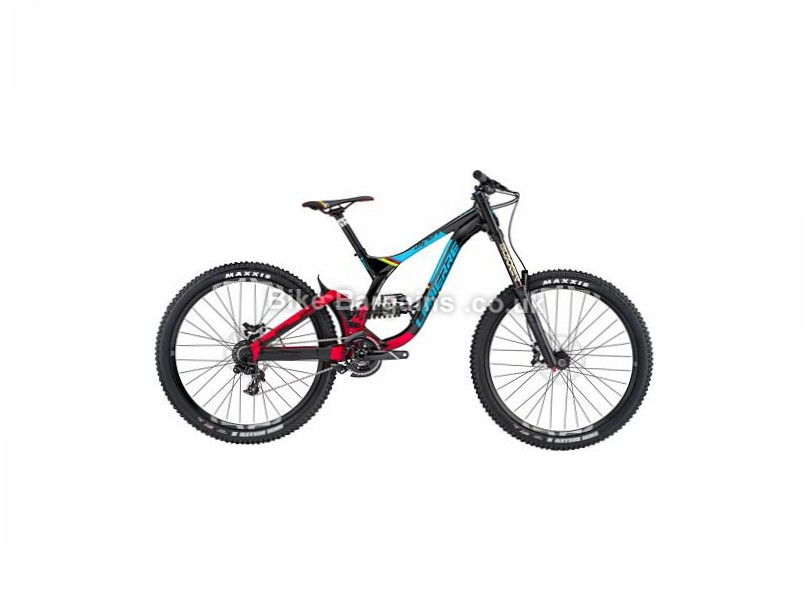 "Lapierre DH 727 Alloy Full Suspension Mountain Bike 2017 27.5"", S, Black, Red, Blue, Alloy"