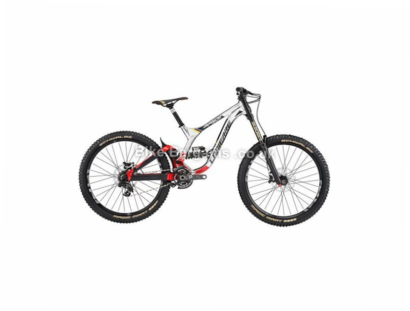 "Lapierre DH World Champion 27.5"" Alloy Full Suspension Mountain Bike 2017 27.5"", L, Silver, Red, Black, Alloy"