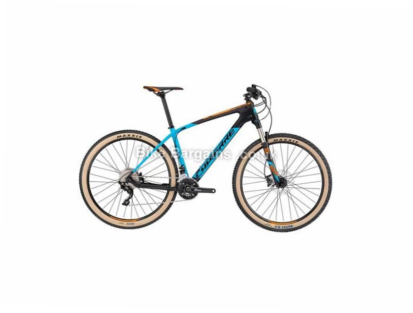 """Lapierre Pro Race 527 Carbon Hardtail Mountain Bike 2017 27.5"""", 15"""", Blue, Orange, Black, 20 Speed, Carbon"""