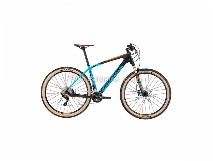 "Lapierre Pro Race 5 29"" Carbon Hardtail Mountain Bike 2017 29"", 17"", Blue, Orange, Black, 20 Speed, Carbon"