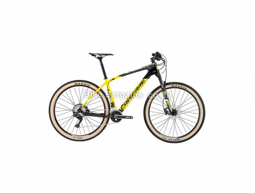"Lapierre Pro Race 627 27.5"" Carbon Hardtail Mountain Bike 2017 27.5"", 13"", Yellow, Black, 22 Speed, Carbon"