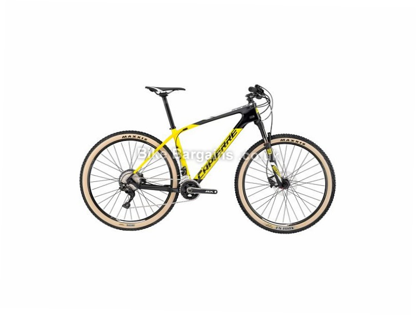 "Lapierre Pro Race 629 Carbon Hardtail Mountain Bike 2017 29"", 17"", Yellow, Black, 22 Speed, Carbon"
