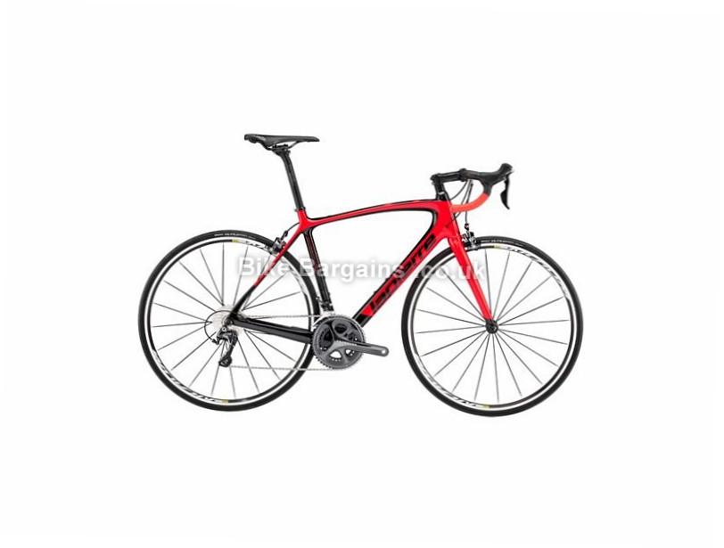 Lapierre Sensium 600 CP Carbon Road Bike 2017 61cm, Black, Red, Carbon, Calipers, 11 speed, 700c