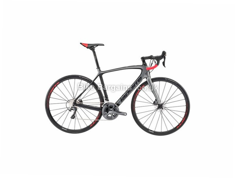 Lapierre Sensium 600 Disc CP Carbon Road Bike 2017 52cm, Black, Grey, Carbon, Disc, 11 speed, 700c