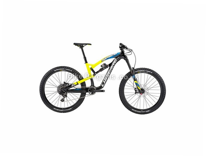 "Lapierre Spicy 527 27.5"" Alloy Full Suspension Mountain Bike 2017 27.5"", 17"", Black, Yellow, Blue, 11 Speed, Alloy"