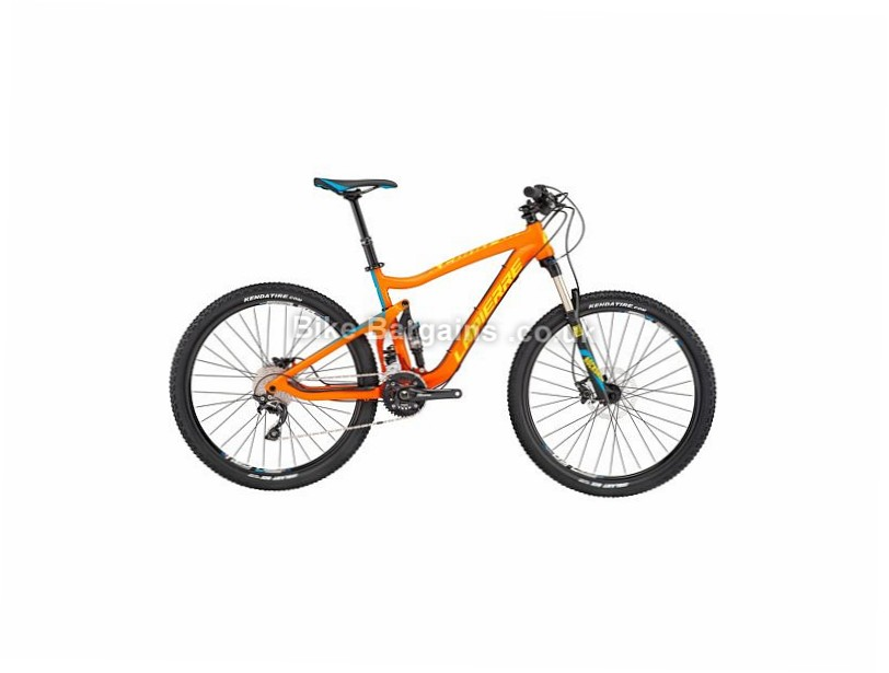 "Lapierre X-Control 227 27.5"" Alloy Full Suspension Mountain Bike 2017 27.5"", 19"", Orange, Blue, 20 Speed, Alloy"