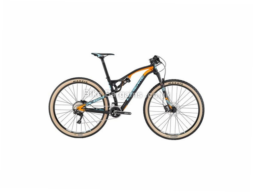 "Lapierre XR 629 Carbon Full Suspension Mountain Bike 2017 29"", 18.5"", Black, Orange, Blue, 11 Speed, Carbon"