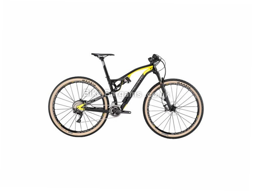 "Lapierre XR 729 Carbon Full Suspension Mountain Bike 2017 29"", 17"", Black, Yellow, 11 Speed, Carbon"