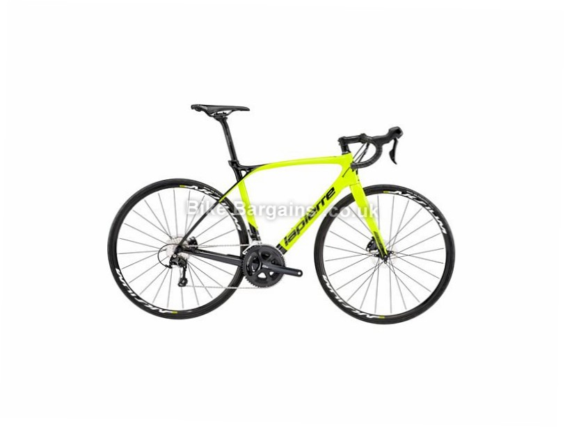 Lapierre Xelius SL 500 Disc MC Carbon Road Bike 2017 700c, 46cm, 55cm, 58cm, Green, Black, 22 Speed, Carbon
