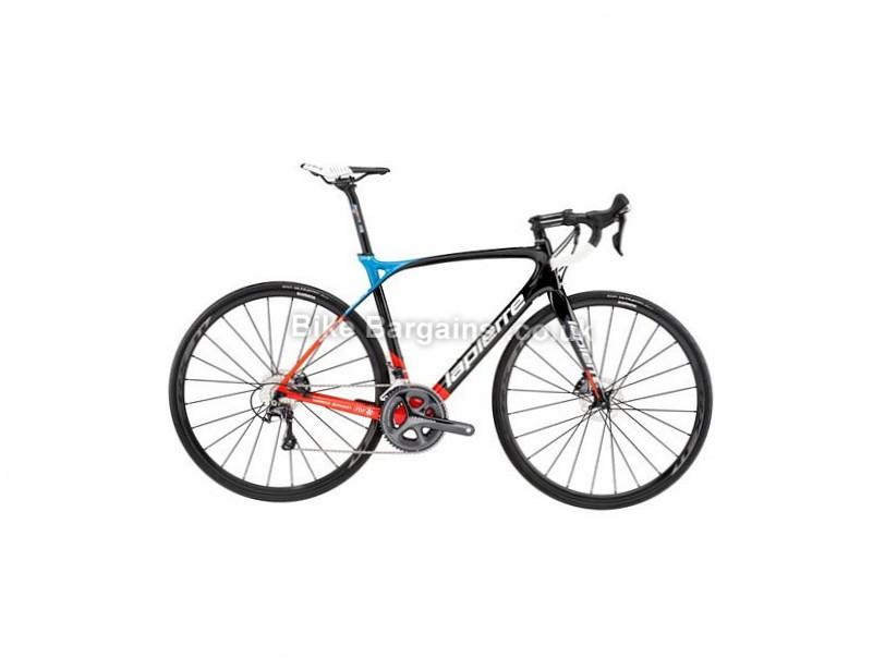 Lapierre Xelius SL 600 Disc MC Carbon Road Bike 2017 46cm, 700c, Black, Blue, Red, 22 Speed, Carbon