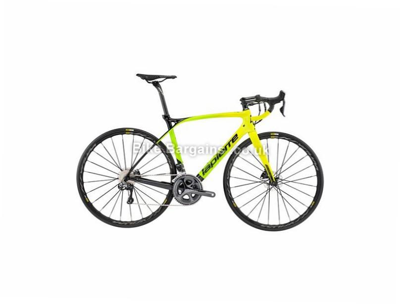 Lapierre Xelius SL Ultimate Disc Carbon Road Bike 2017 S, Black, Green, Carbon, Disc, 11 speed, 700c