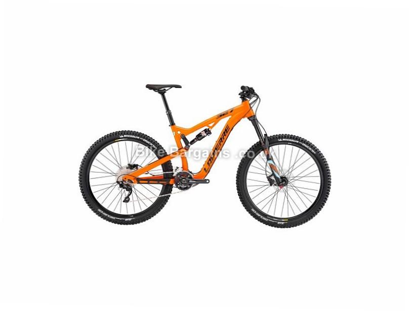 "Lapierre Zesty AM 327 27.5"" Alloy Full Suspension Mountain Bike 2017 27.5"", 17"", Orange, Turquoise, 10 Speed, Alloy"