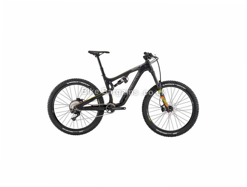 "Lapierre Zesty AM 527 Carbon Full Suspension Mountain Bike 2017 27.5"", 17"", Black, Orange, Yellow, 11 Speed, Carbon"