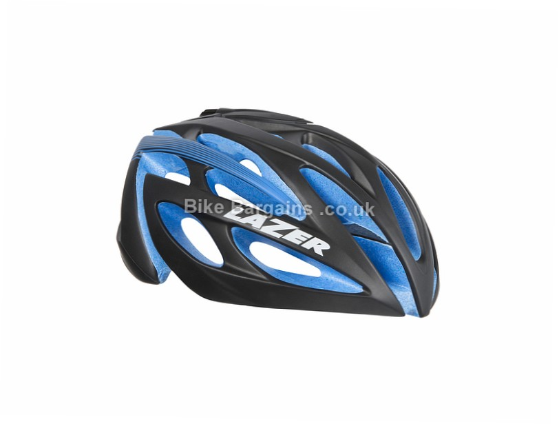 Lazer Sport O2 Road Helmet Black, Blue, S