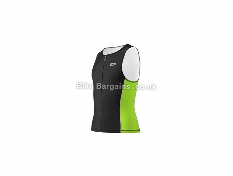 Louis Garneau Comp Sleeveless Junior Tri Top 10,12, Purple,Green