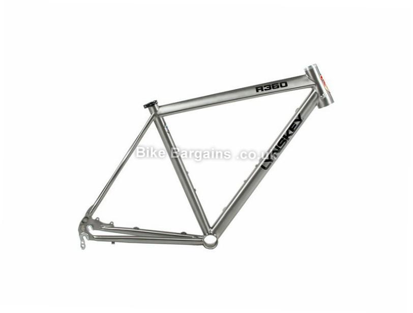 Lynskey R360 Disc Titanium Road Bike Frame 56cm, Titanium