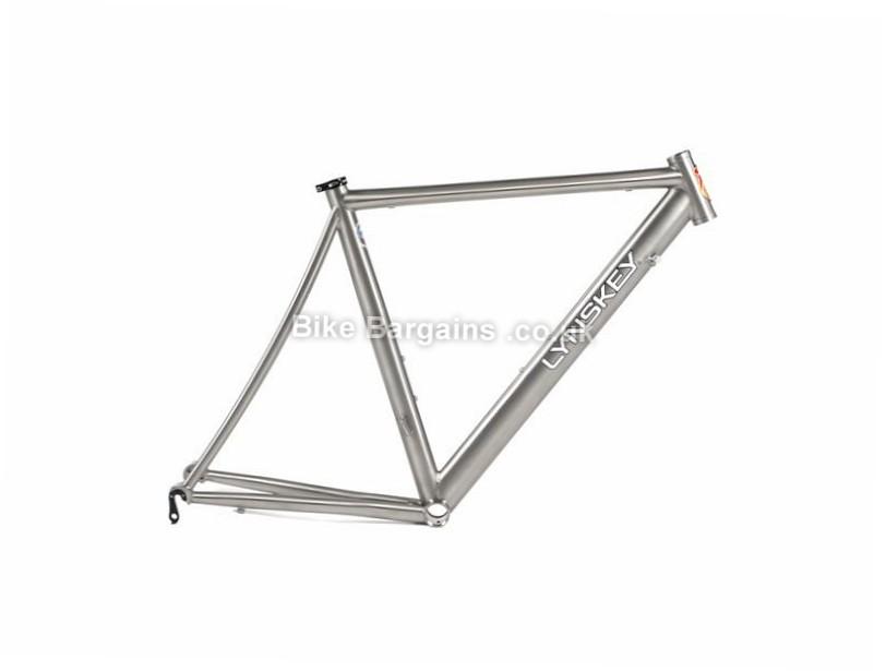 Lynskey T230 TT Titanium Caliper Triathlon Frame 2016 60cm, Silver, Titanium, Caliper Brakes, 700c