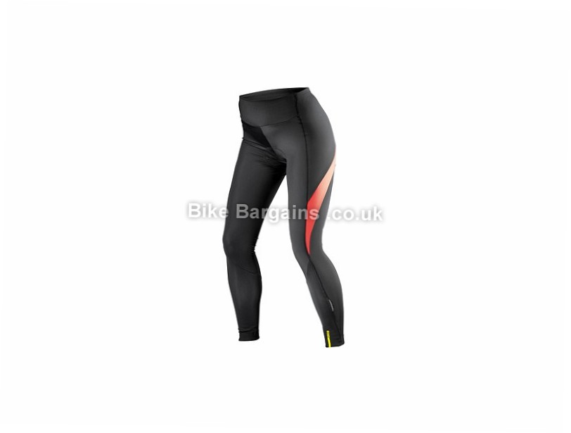 Mavic Aksium Thermo Ladies Cycling Tights XL, Red,