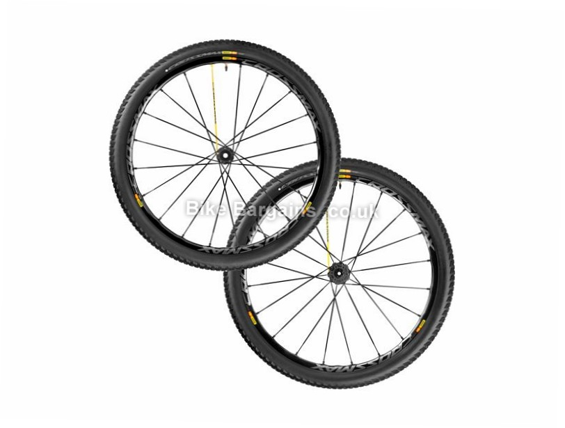 "Mavic Crossmax SL Pro WTS MTB Wheelset Front, Rear, 27.5"", Black, 10/11 Speed"