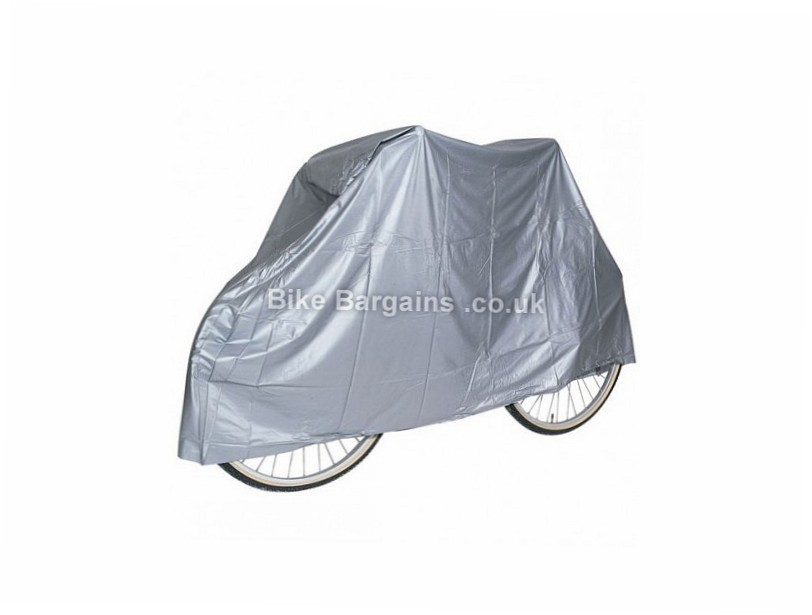 More Mile Waterproof Bike Cover Silver, One Size