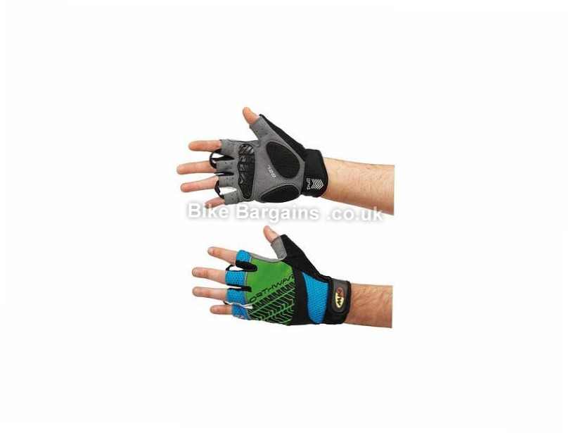 Northwave Dumper Mitts S, Blue, Green