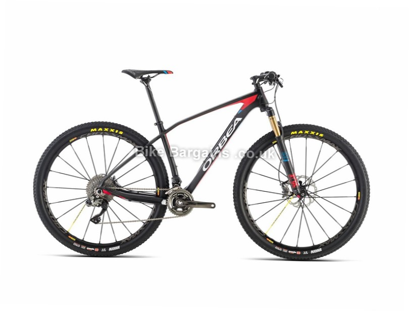 Orbea Alma 27 M-LTD Carbon Hardtail Mountain Bike 2016 Red, Blue, L