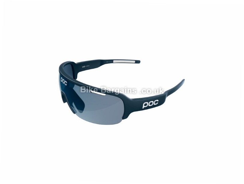POC Do Half Blade Sunglasses White, Orange