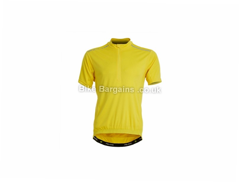 Polaris Adventure Road Short Sleeve Jersey M,XL, Red, Yellow