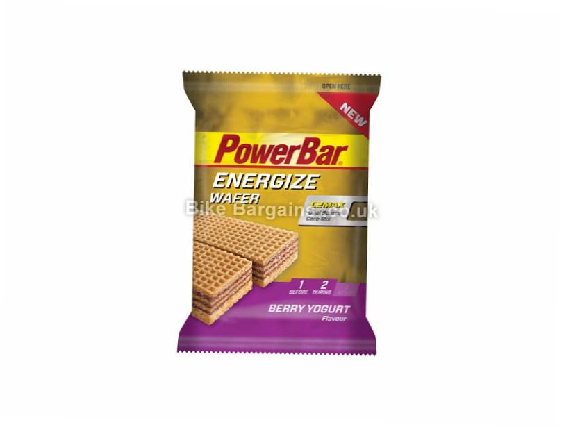PowerBar Energize 40g Wafer Bar 12 pack Berry Yoghurt, 12 pack, 40g