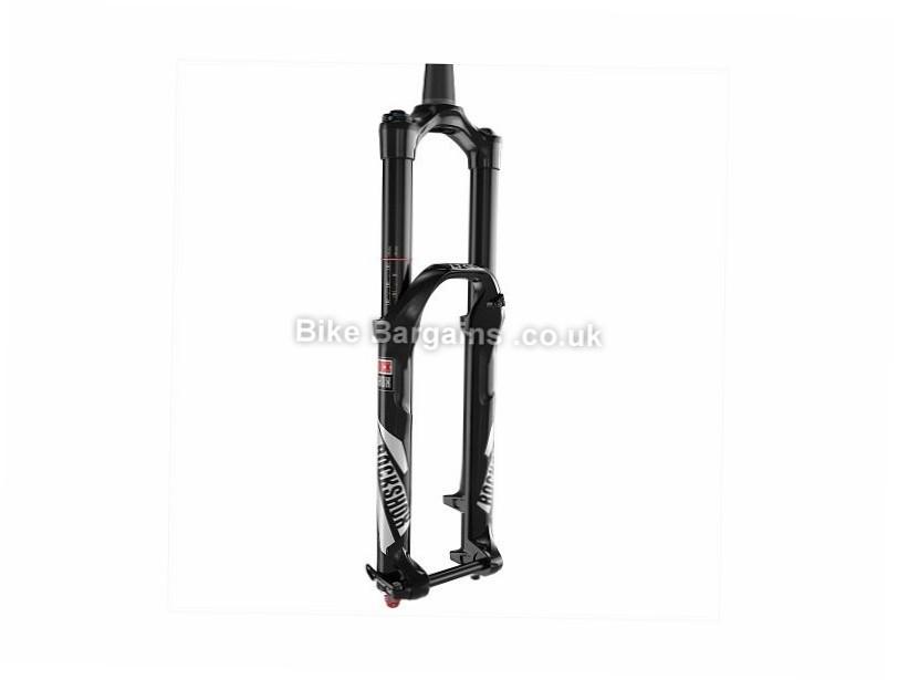 "RockShox Lyrik RCT3 Dual Position Boost MTB Suspension Forks 1.1/8"", 1.5"" Tapered, 27.5"", 180mm, Black"
