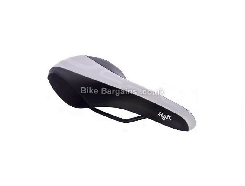 Selle Royal Yak Saddle Black, White, 285g