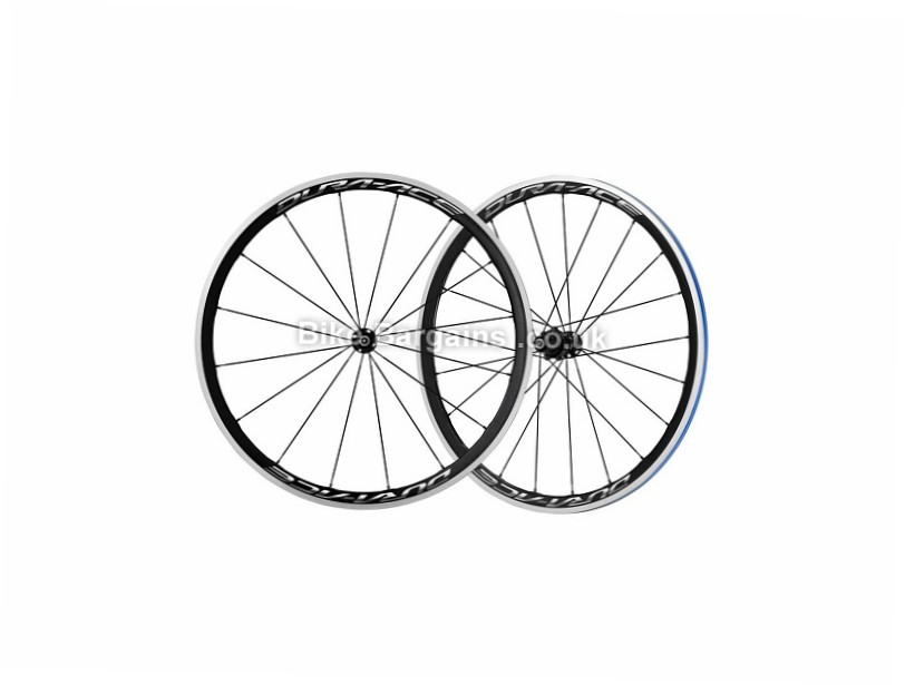 Shimano Dura Ace R9100 C40 Carbon Road Wheelset Black, Shimano, 8-11 Speed, 700c, Clincher