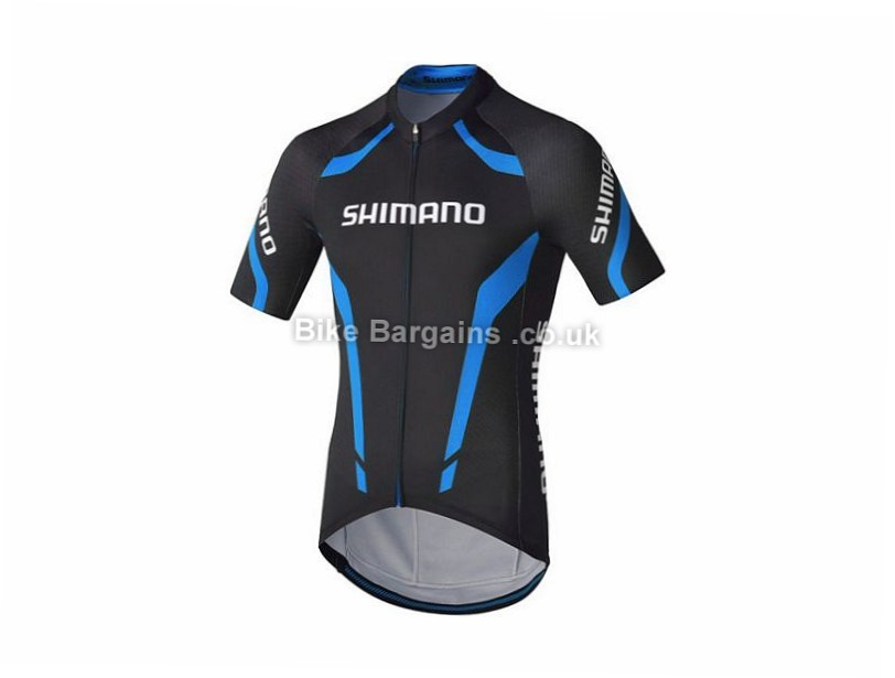 Shimano Performance Short Sleeve Jersey S, M, L, XL, Red, Yellow