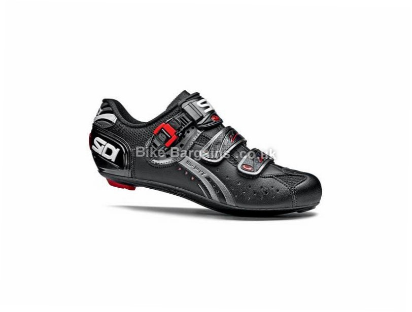 Sidi Genius 5 Fit Mega Carbon Road Shoes 51, black