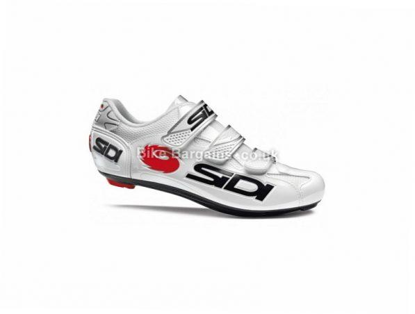 Sidi Logo Road Shoes 36,37, White, Black