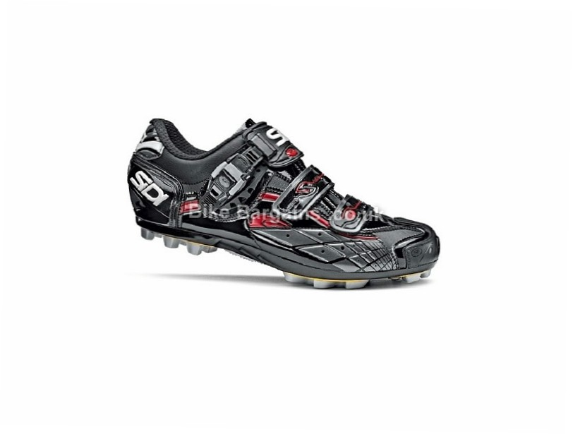 Sidi Spider SRS Vernice MTB Shoes Black, 42