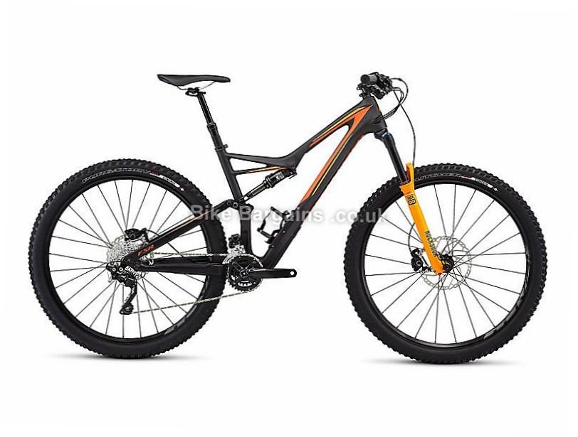 Specialized Stumpjumper Fsr Comp Carbon 29 Frame 2016 S, Black, Orange