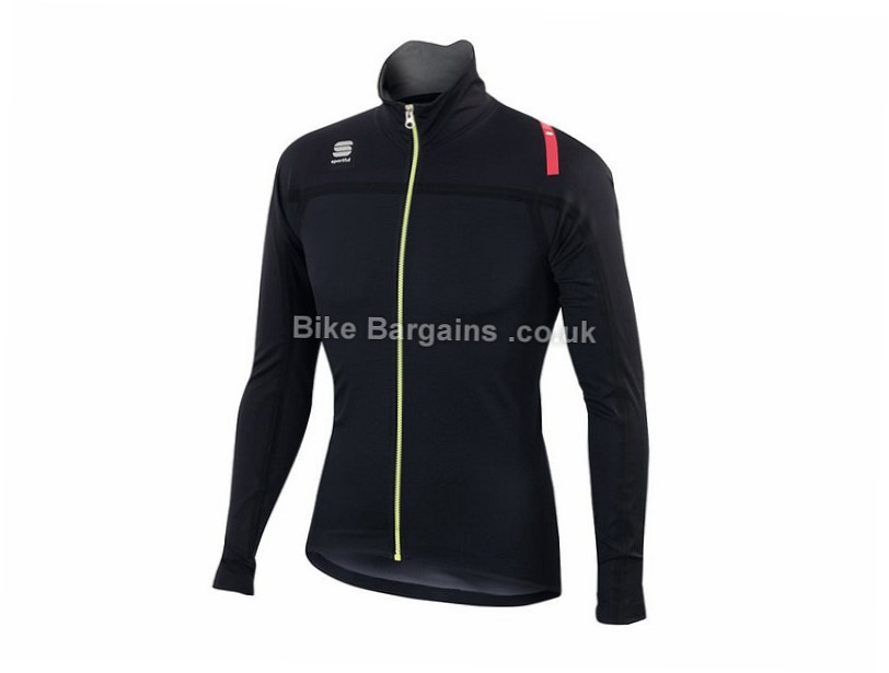 Sportful Fiandre Extreme NeoShell Jacket S, Black, Red