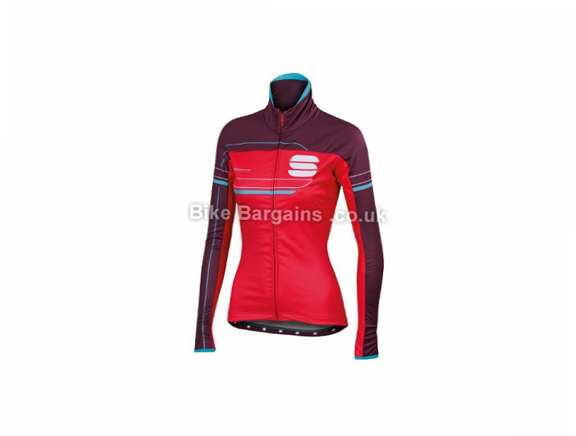 Sportful Ladies Gruppetto Pro Jacket L, Blue, Black, Red